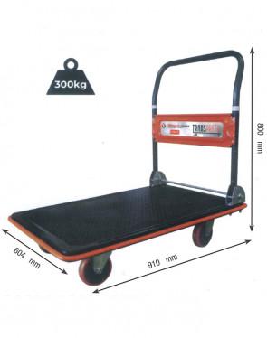 CWC30R/1 Carrello piano manuale per trasporto e stoccaggio - portata 300Kg