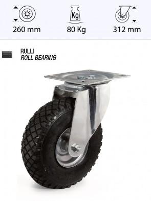 Ruota pneumatica 260mmx85