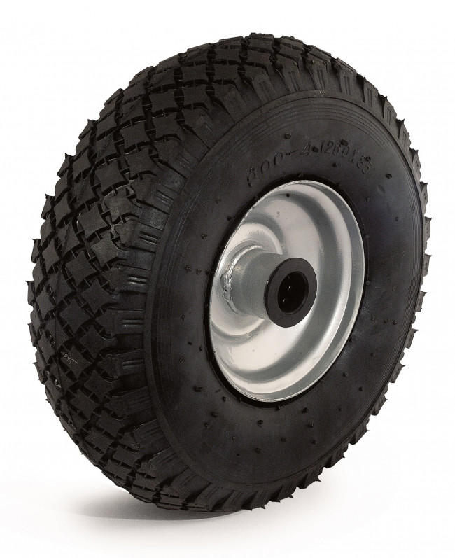 PNL260AR2-Ruota libera pneumatica 260mmx85 cerchio in acciaio