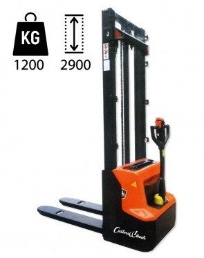 CW1229E Electric Elevator - load capacity 1200Kg -  lifting up 2900mm