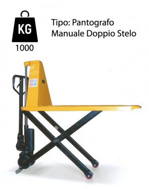CW2/SM Scissor Lift - Load Capacity 1000Kg - Lifting up 800mm