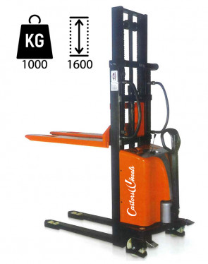 CWS16 Electric Elevator with hand traction - load capacity 1000Kg - lifting up 1600mm