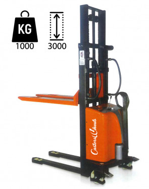 CWS30 Electric Elevator with hand traction - load capacity 1000Kg - lifting up 3000mm