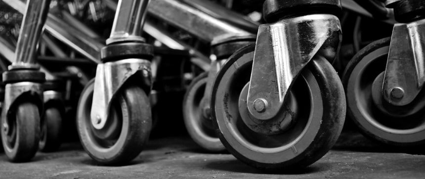 Specific castors and wheels for every area of use