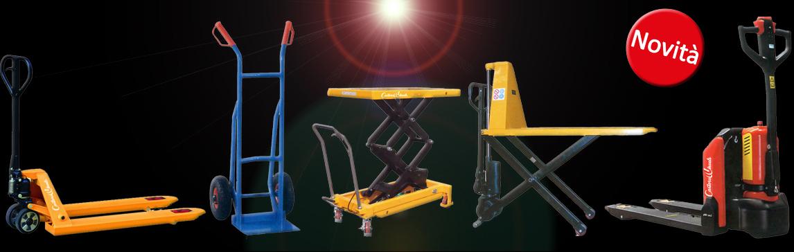 Scopri la nostra gamma di Carrelli per la movimentazione industriale